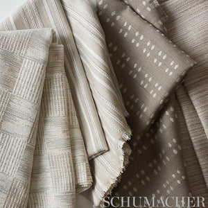 SCHUMACHER TERRA MAR INDOOR OUTDOOR FABRIC / MINERAL