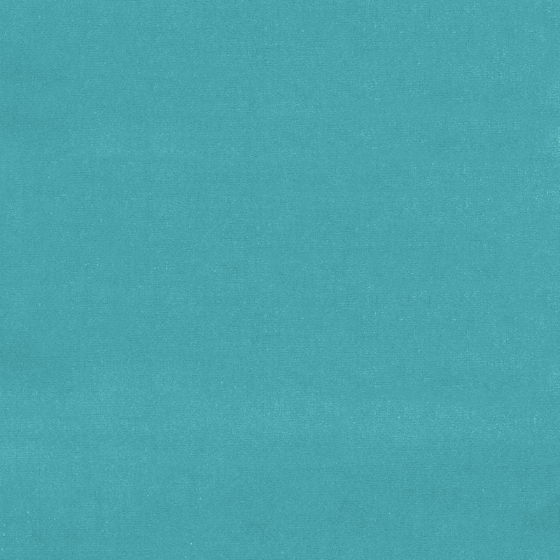 SCHUMACHER GAINSBOROUGH VELVET FABRIC / TURQUOISE