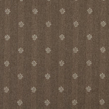 Load image into Gallery viewer, Essentials Dark Tan Beige Upholstery Fabric / Café Leaf