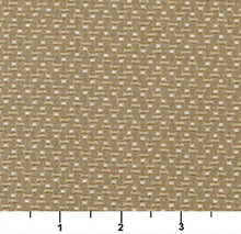 Load image into Gallery viewer, Essentials Mid Century Modern Geometric Tan Beige Dot Upholstery Fabric / Ecru