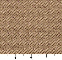 Load image into Gallery viewer, Essentials Heavy Duty Mid Century Modern Scotchgard Tan Dot Upholstery Fabric / Pecan