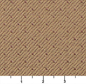 Essentials Heavy Duty Mid Century Modern Scotchgard Tan Dot Upholstery Fabric / Pecan