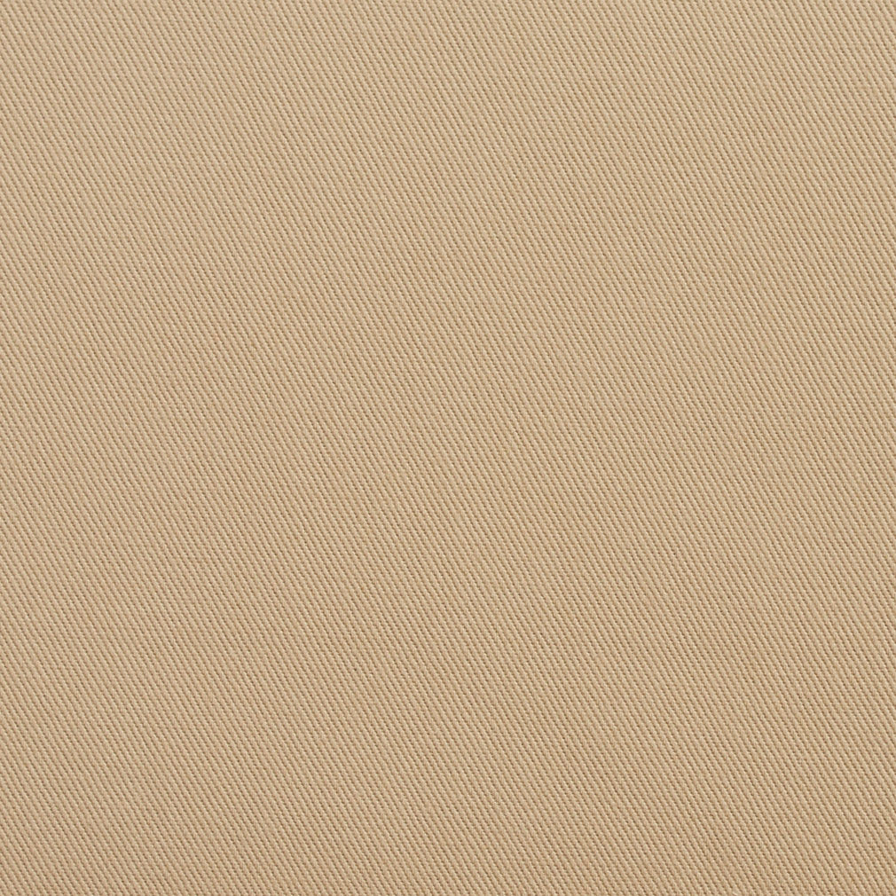 Essentials Cotton Twill Tan Upholstery Fabric / Khaki