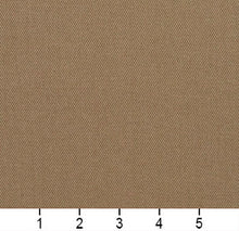 Load image into Gallery viewer, Essentials Cotton Twill Tan Upholstery Fabric / Pewter