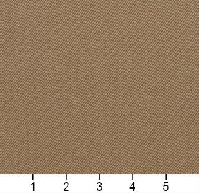 Essentials Cotton Twill Tan Upholstery Fabric / Pewter