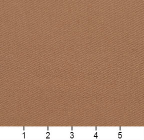 Essentials Cotton Twill Tan Upholstery Fabric / Sandalwood
