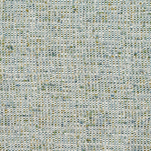 Essentials Crypton Teal White Lime Upholstery Fabric / Lagoon