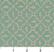 Load image into Gallery viewer, Essentials Indoor Outdoor Upholstery Drapery Fabric Turquoise / Seafoam Mosaic