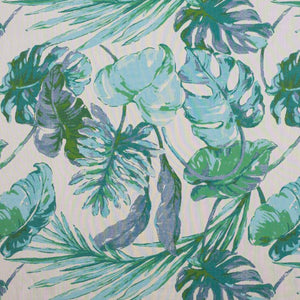 Tommy Bahama VILLA FRONDS Indoor/Outdoor Sunbrella Fabric /AQUA