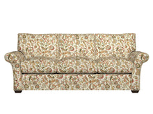 Load image into Gallery viewer, Essentials Cityscapes White Blue Red Green Yellow Floral Paisley Upholstery Drapery Fabric