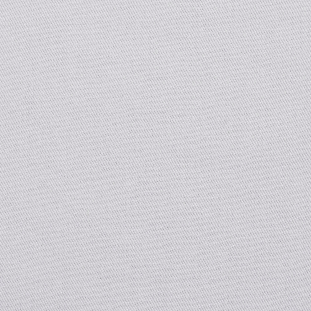 Essentials Cotton Twill Upholstery Fabric / White