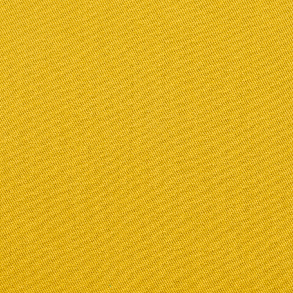 Essentials Cotton Twill Yellow Upholstery Fabric / Canary