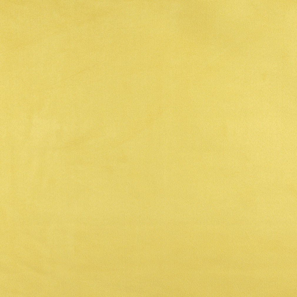 Essentials Stain Repellent Microsuede Upholstery Drapery Fabric Yellow / Canary