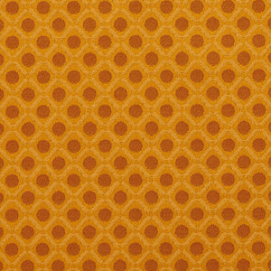 Essentials Yellow Gold Geometric Diamond Сircle Upholstery Fabric / Nugget