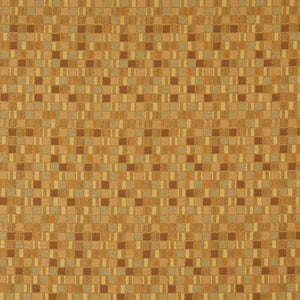 Essentials Yellow Gold Mustard Mosaic Upholstery Fabric / Bullion