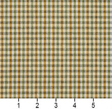 Load image into Gallery viewer, Essentials Yellow Lime White Plaid Upholstery Fabric / Spring Check