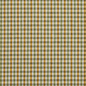 Essentials Yellow Lime White Plaid Upholstery Fabric / Spring Check