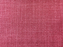 Load image into Gallery viewer, Mid Century Modern MCM Faux Linen Glazed Textured Watermelon Hot Pink Berry Red Raspberry Fire Upholstery Drapery Fabric RMC-SMII