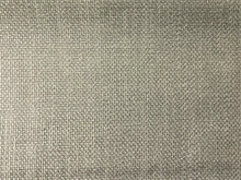 Load image into Gallery viewer, Mid Century Modern MCM Faux Linen Glazed Textured Indigo Navy Blue Silver Light Gray Mist Concrete Taupe Neutral Upholstery Drapery Fabric RMC-SMII