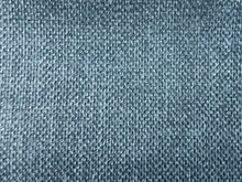Load image into Gallery viewer, Mid Century Modern MCM Faux Linen Glazed Textured Water Steel Blue Denim Chambray Blueberry Royal Blue Upholstery Drapery Fabric RMC-SMII