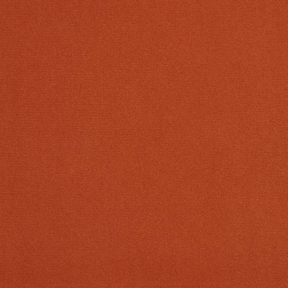 Essentials Crypton Performance Abrasion Stain Fade Resistant Velvet Upholstery Fabric / Burnt Orange