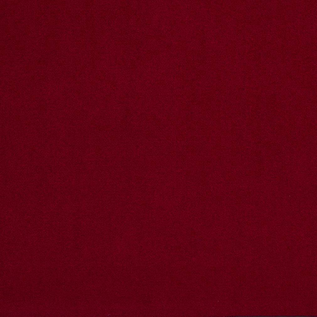Essentials Red Crypton Performance Abrasion Stain Fade Resistant Velvet Upholstery Fabric / Sangria