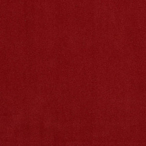 Essentials Red Crypton Performance Abrasion Stain Fade Resistant Velvet Upholstery Fabric / Ruby