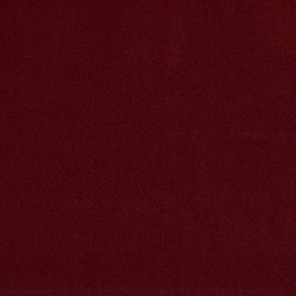 Essentials Red Crypton Performance Abrasion Stain Fade Resistant Velvet Upholstery Fabric / Wine