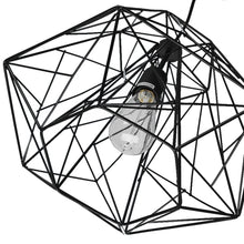 Load image into Gallery viewer, Abstract Metal Ceiling Cage Light / Black - Free USA Shipping