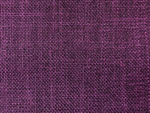 Load image into Gallery viewer, Mid Century Modern MCM Faux Linen Glazed Textured Rose Mauve Brick Burgundy Plum Purple Grape Violet Upholstery Drapery Fabric RMC-SMII