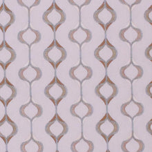 Load image into Gallery viewer, Reagan Embroidered Aqua Sage Green White Drapery Upholstery Fabric / Aquarius