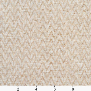 Essentials Heavy Duty Upholstery Drapery Сhevron Fabric / Beige