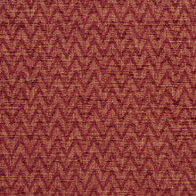Load image into Gallery viewer, Essentials Heavy Duty Upholstery Drapery Сhevron Fabric / Burgundy