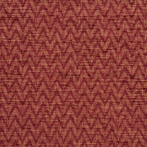 Essentials Heavy Duty Upholstery Drapery Сhevron Fabric / Burgundy