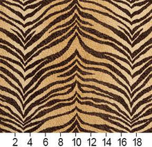 Load image into Gallery viewer, Essentials Performance Stain Resistant Microfiber Upholstery Fabric /  Dessert Tiger