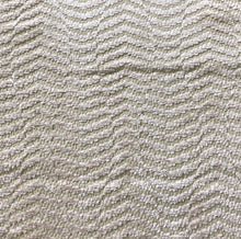Load image into Gallery viewer, Amalfi Stripe Wave Chenille Upholstery Fabric Beige / Fawn