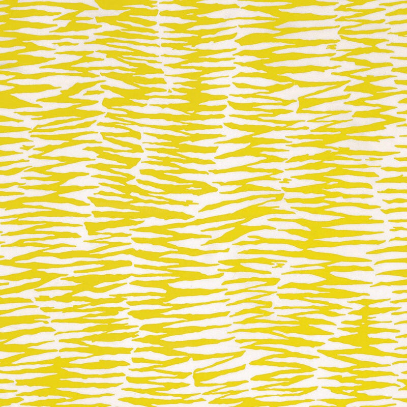 Schumacher Outdoor Indoor Zebra Print Fabric / Bamboo