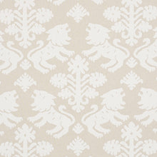 Load image into Gallery viewer, Schumacher Regalia Fabric / Natural
