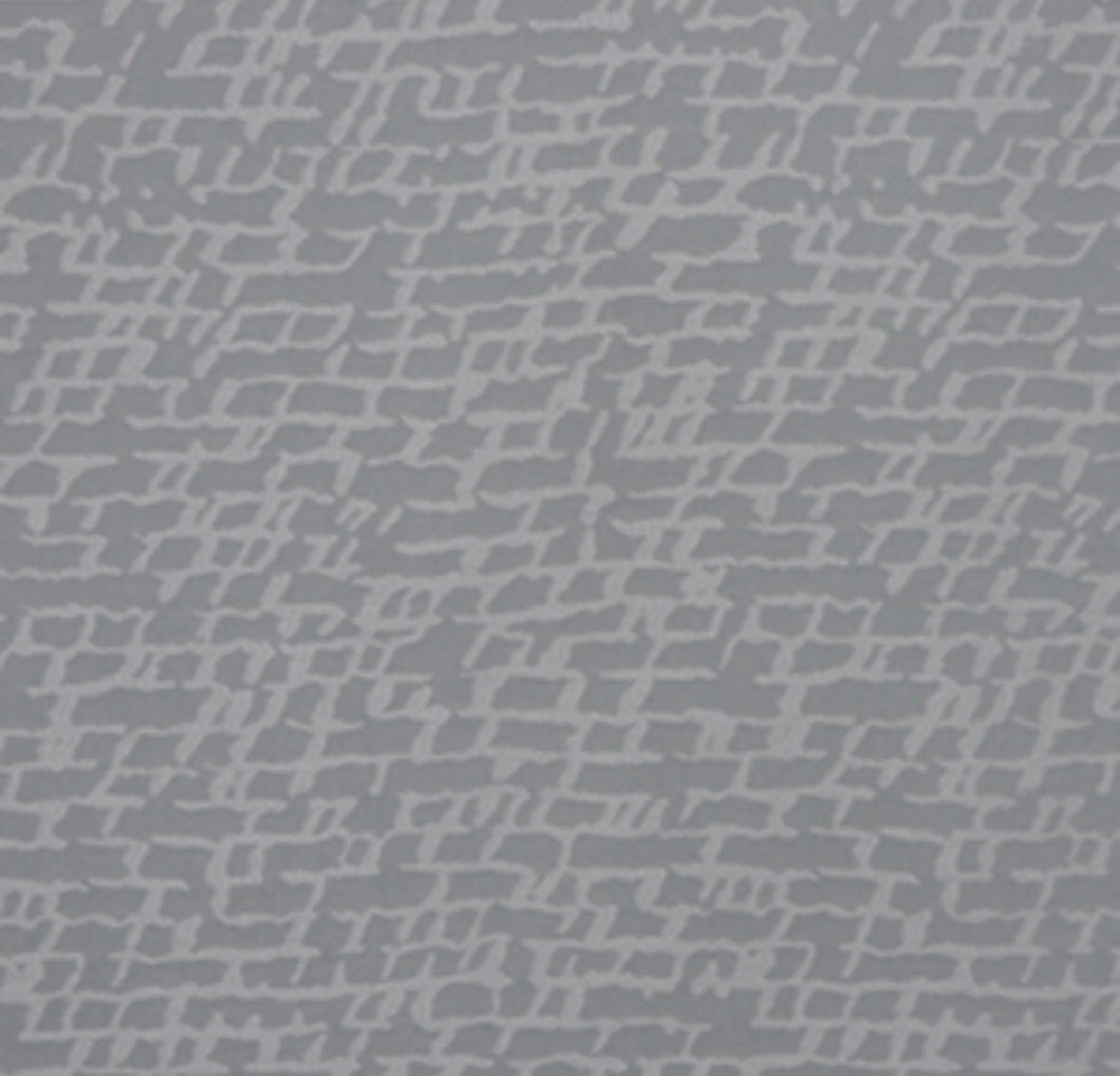 Gray Blue Off White Abstract Upholstery Drapery Fabric / Sky