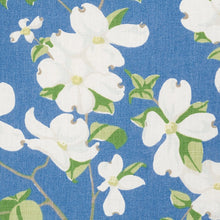 Load image into Gallery viewer, Schumacher Blooming Branch Upholstery Drapery Fabric / Blue
