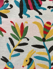 Load image into Gallery viewer, Otomi Fabric Tribal Ethnic Upholstery Tapestry Fabric Animal Print