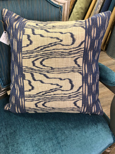 "19"" x 19"" Agate Groundworks by Kelly Wreastler for Lee Jofa Fabric Linen Pillow Cover"