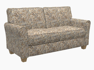 Essentials Performance Stain Resistant Microfiber Upholstery Fabric / Snow Leopard