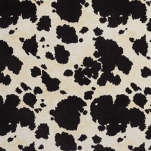 Load image into Gallery viewer, Essentials Performance Stain Resistant Black Cow Microfiber Upholstery Fabric / Black Palomino