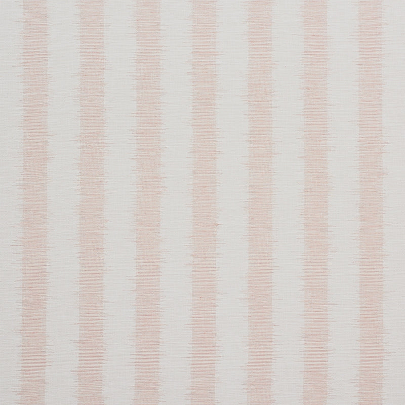 Schumacher Attleboro Ikat Fabric / Blush