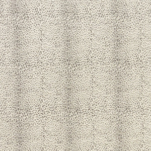Schumacher Mini Leopard Outdoor Fabric / Slate