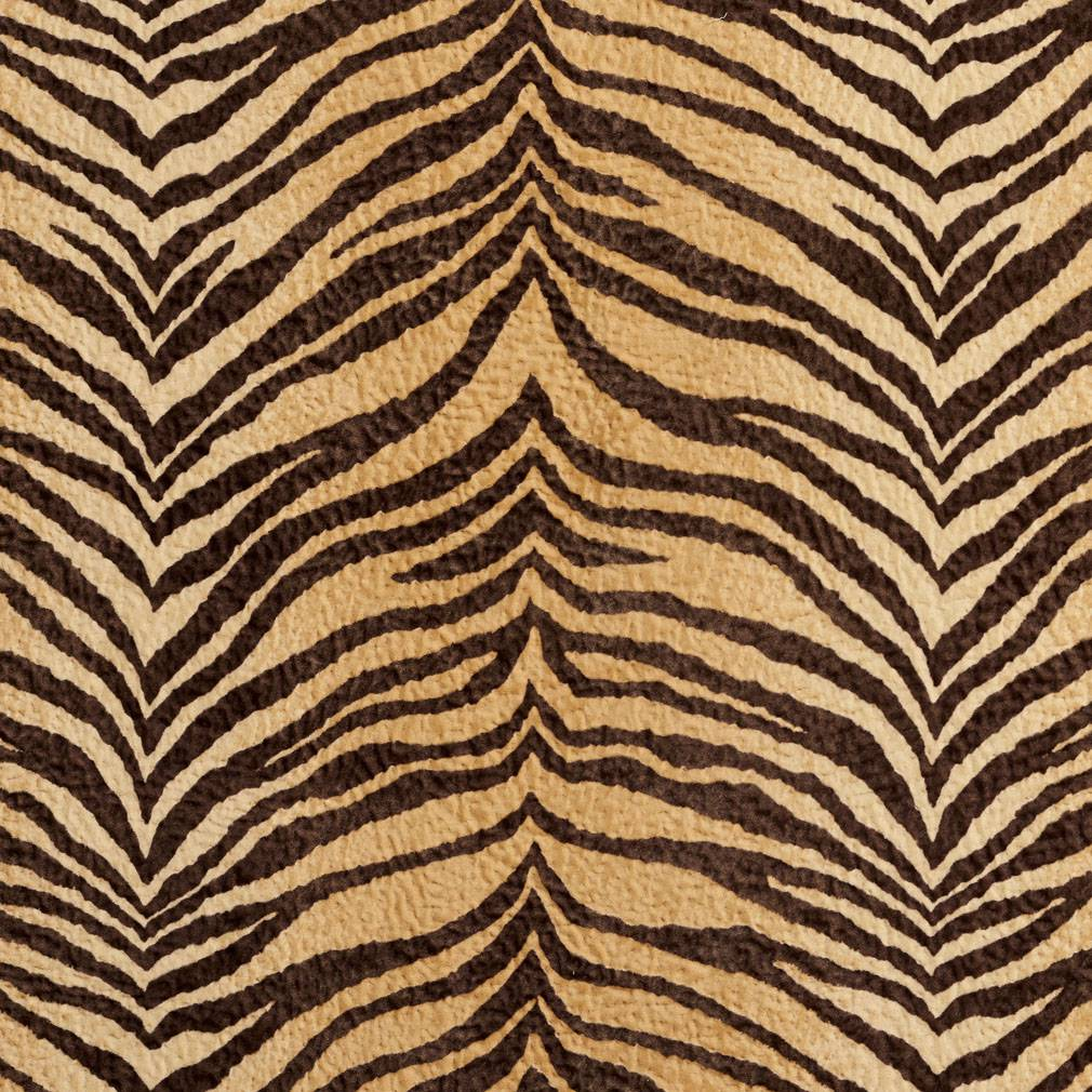 Essentials Performance Stain Resistant Microfiber Upholstery Fabric /  Dessert Tiger