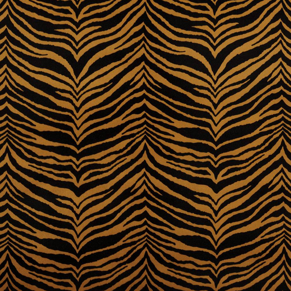 Brown Cheetah Print Microfiber Stain Resistant Upholstery Fabric By