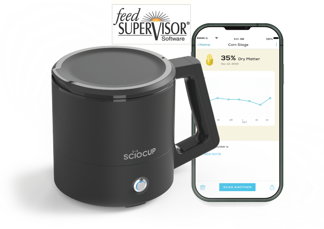 SCiO Cup Feed Analyzer - Feed Supervisor Supported
