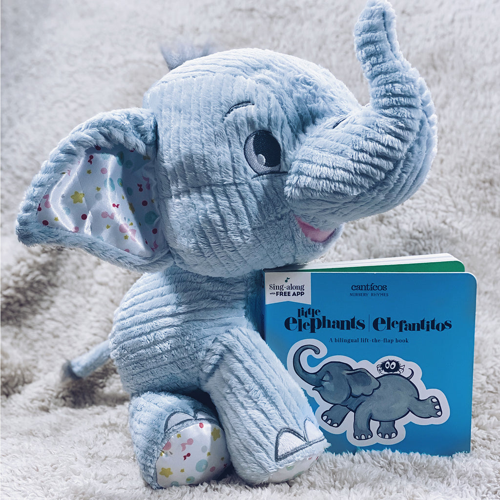 Benji the Elephant plush bundle set